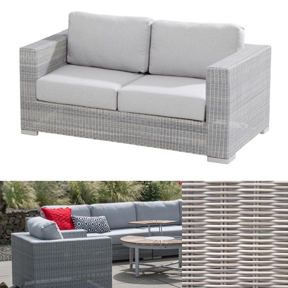 gartenbank lucca polyloom ice 2 5 er loungesofa rattan. Black Bedroom Furniture Sets. Home Design Ideas