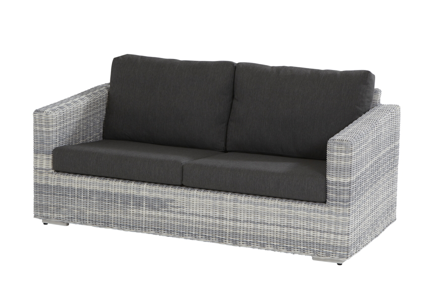 polyrattan gartenbank edge ice sofa 2 5 sitzer geflecht. Black Bedroom Furniture Sets. Home Design Ideas