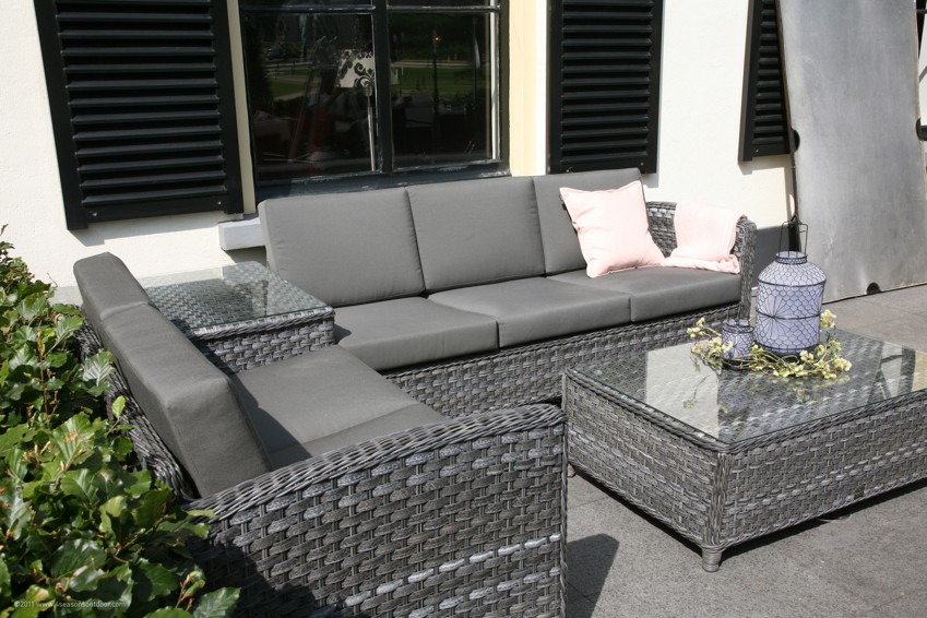 garten loungemobel polyrattan – bankroute, Terrassen ideen