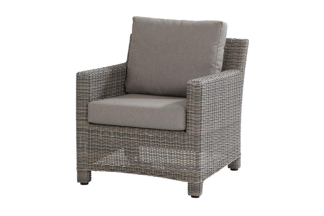 loungesessel rio cosy sessel roca polyrattan geflecht esstischhoch grau vom gartenm bel. Black Bedroom Furniture Sets. Home Design Ideas