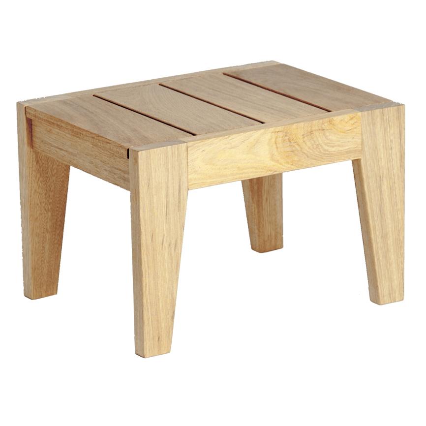 Gartentisch alexander rose roble beistelltisch f r liege for Holztisch beistelltisch