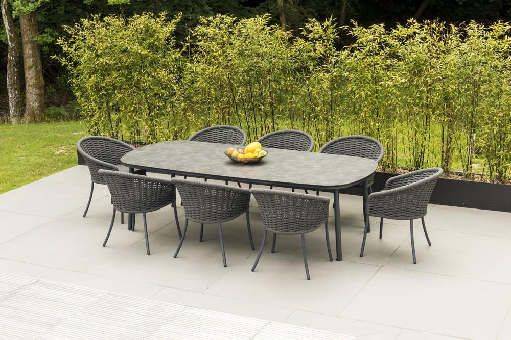 Sitzgruppe Alexander Rose Cordial Grau Korbmobel Set 1 Vom Gartenmobel Fachhandler