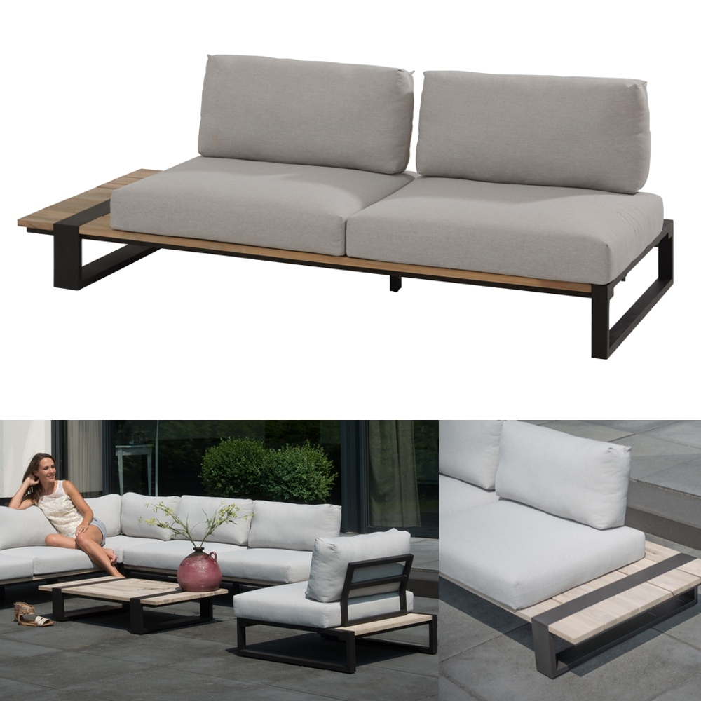 gartenbank 4seasons duke 2er sofa rechts. Black Bedroom Furniture Sets. Home Design Ideas