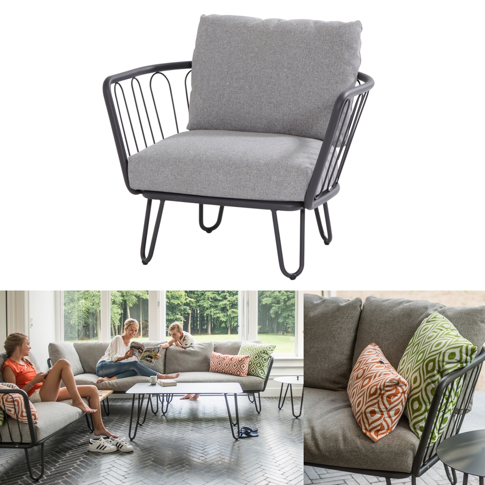 gartenstuhl 4seasons premium sessel loungesessel. Black Bedroom Furniture Sets. Home Design Ideas
