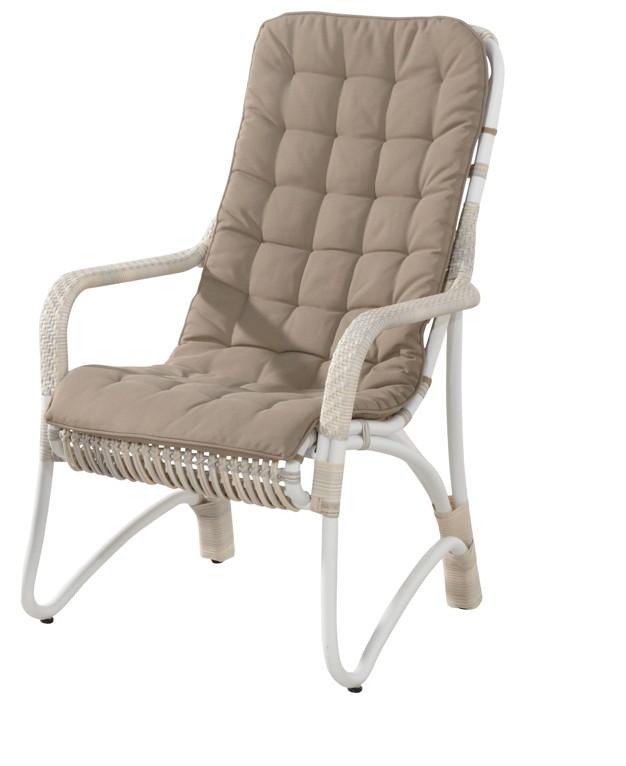 gartenstuhl olivia lounge sessel mit hocker set korbsessel geflecht vom gartenm bel fachh ndler. Black Bedroom Furniture Sets. Home Design Ideas