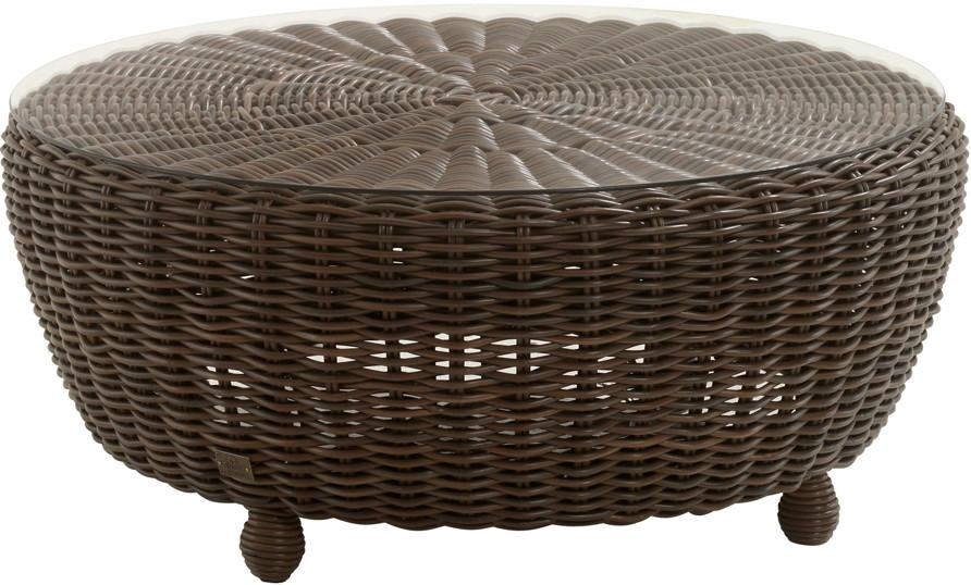 gartentisch 4seasons madoera couchtisch mit glasplatte polyrattan premium loungem bel rattan. Black Bedroom Furniture Sets. Home Design Ideas