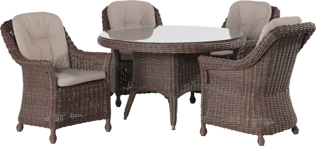 polyrattan outdoor sitzgruppe 4seasons madoera dining. Black Bedroom Furniture Sets. Home Design Ideas